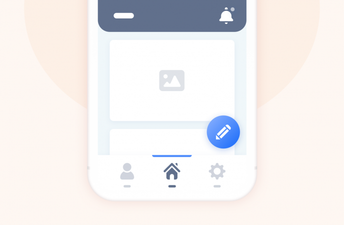 Exemple d'icônes accueil