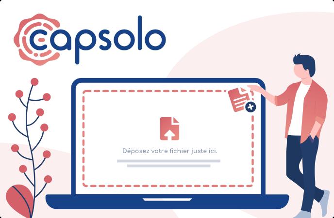 Service Capsolo : déposer des fichiers sur la blockchain